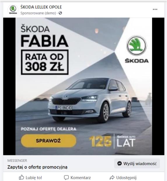reklama pojedyncza