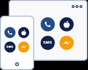 kanały facebook messenger whatsapp apple business chat