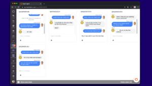 Screen Super Agent LiveChat app