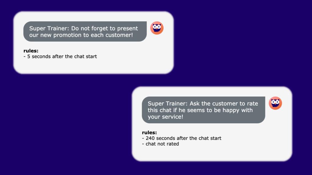 Super Trainer LiveChat app