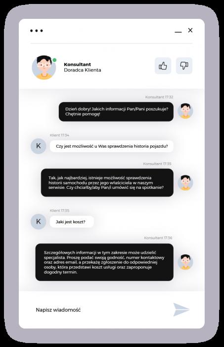 Mini rozmowa czat BespokeChat